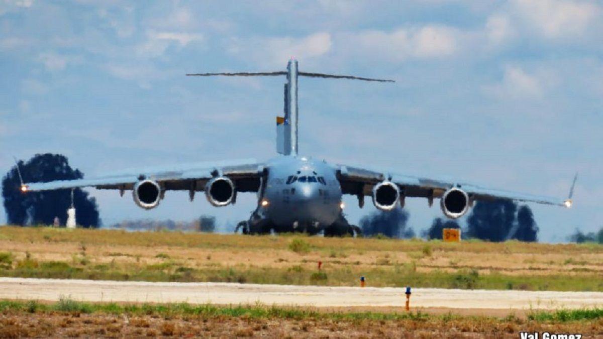 Mendoza: más aviones estadounidenses sobrevolaron El Plumerillo