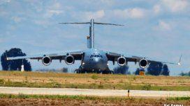 Más aviones estadounidenses volaron en espacio aéreo argentino por el G20