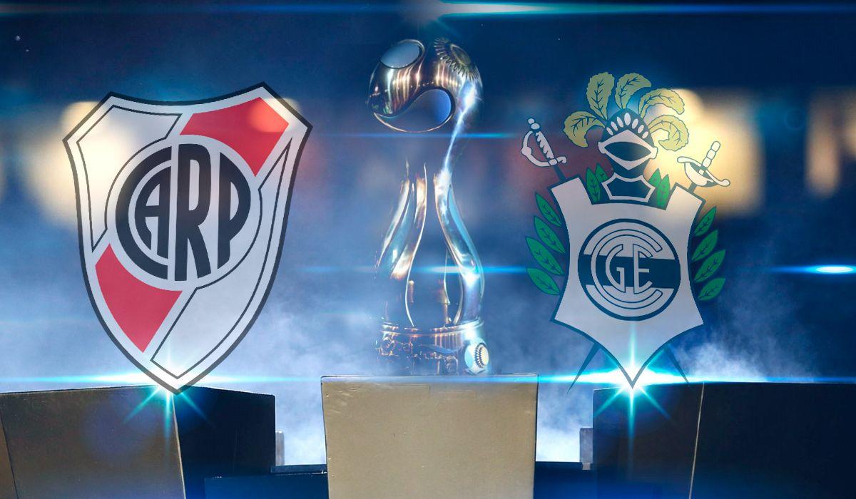 River vs Gimnasia por las semifinales de la Copa Argentina: horario, formaciones y TV