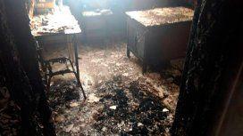 Investigan una explosión e incendio en una escuela de José Mármol