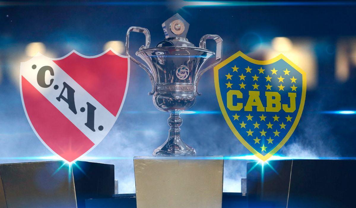Independiente vs. Boca por la Superliga: horario, formaciones y TV