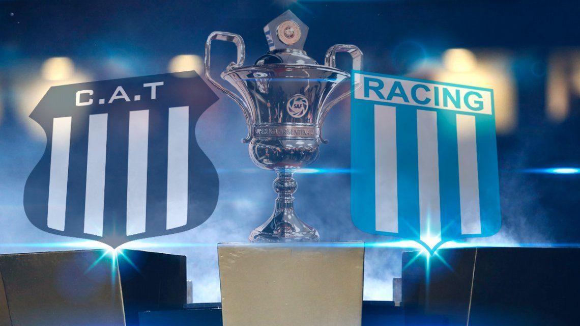 Racing le ganó a Talleres y se afianza en la punta de la Superliga