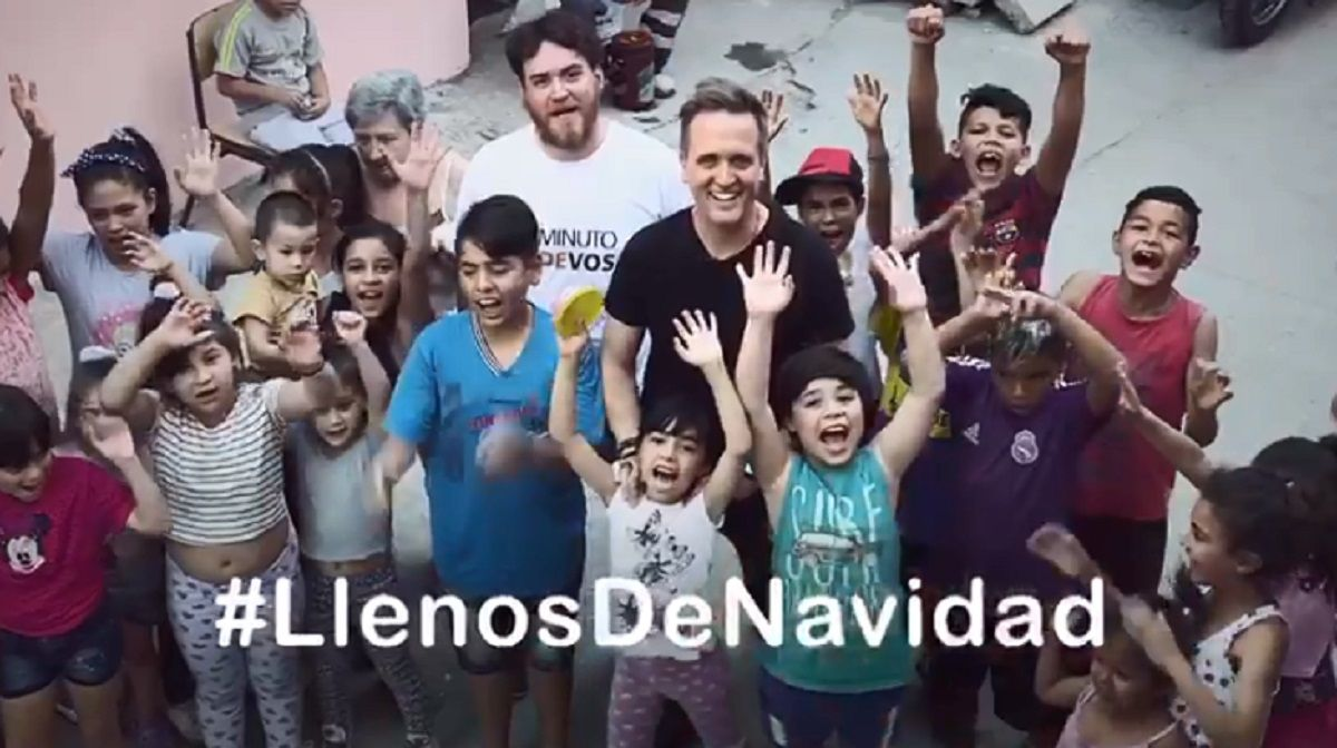 #LlenosDeNavidad La nueva colecta solidaria de C5N y Justo Lamas