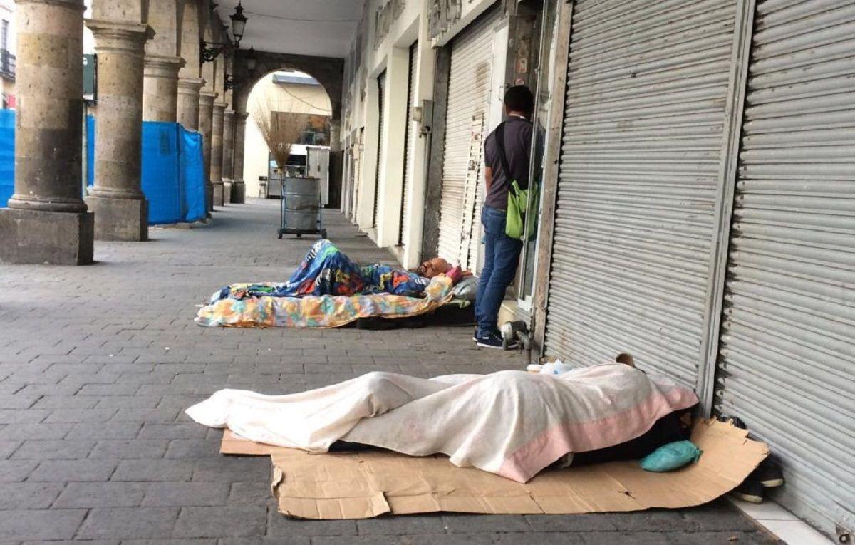 El Gobierno sacó a las personas en situación de calle del centro porteño por el G20