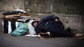 Más de la mitad de los que se hallan en situación de calle lo están por primera vez en sus vidas