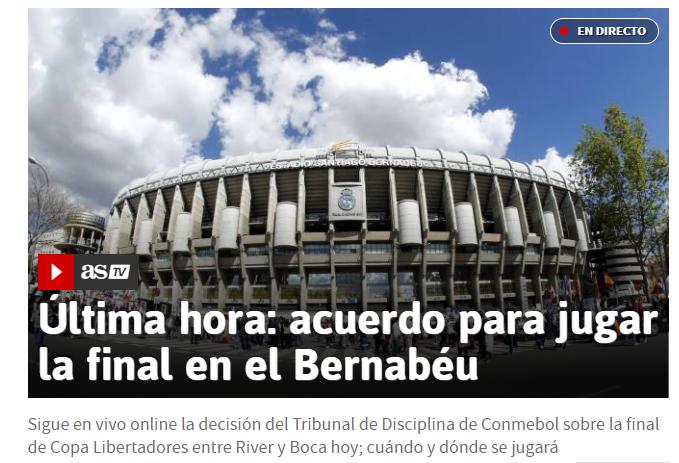 ¿La Superfinal ya tiene sede? En España dan por hecho que se jugará en el Santiago Bernabeu
