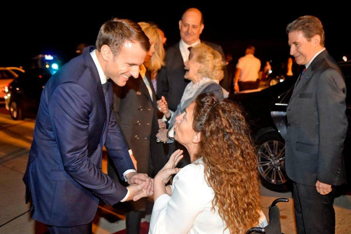 Tras el papelón con Macron, Michetti se enojó por la insólita falla protocolar