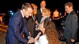 Tras el papelón con Macron