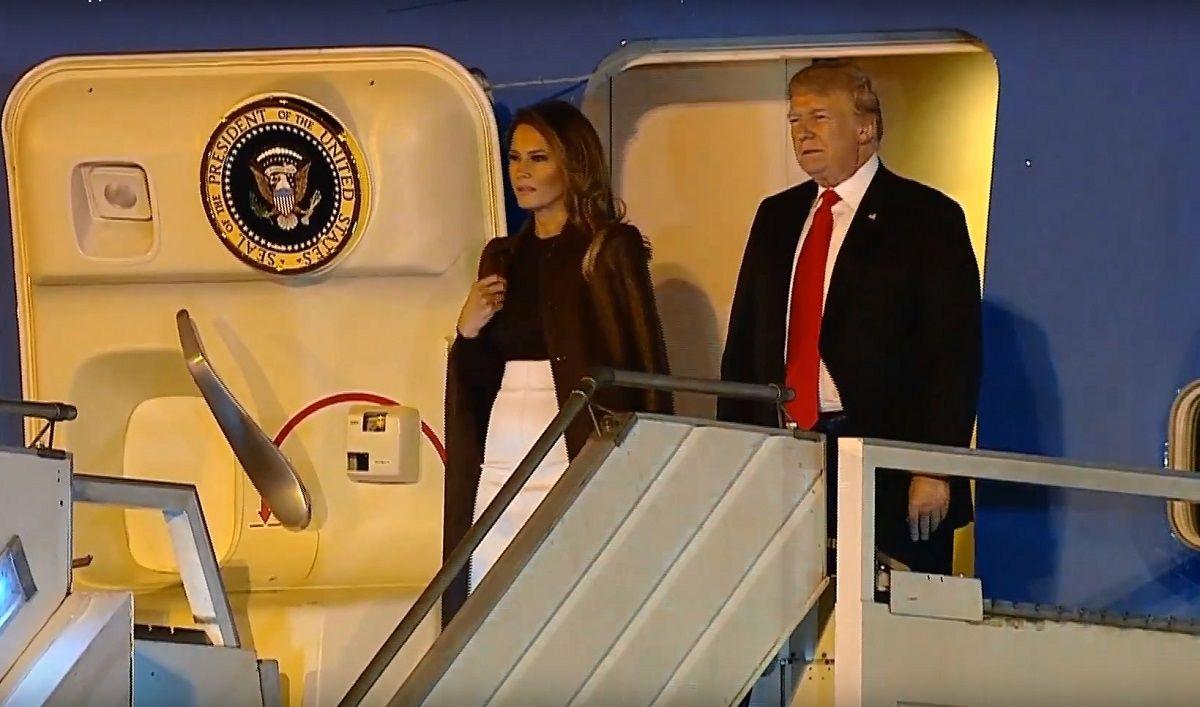 Donald y Melania Trump en Argentina por el G20