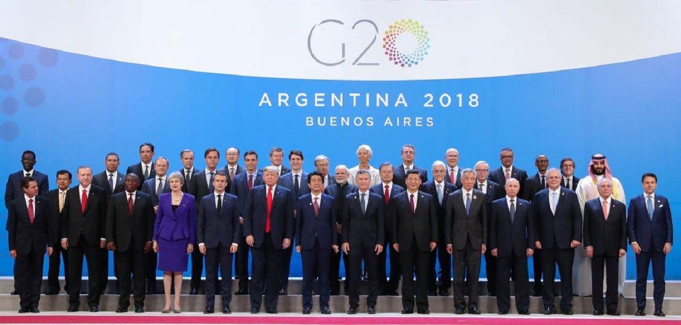 Macri abrió formalmente el G20 en Costa Salguero