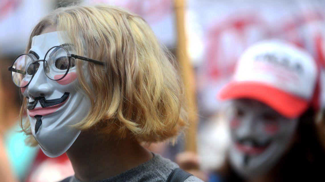 Máscaras de V de Vendetta