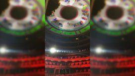 La reacción de los herederos de Soldi por la iluminación de la cúpula del Colón