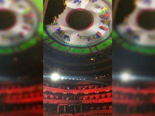 la reaccion de los herederos de raul soldi por la iluminacion de la cupula del teatro colon
