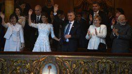 Mauricio Macri, emocionado en el Teatro Colón