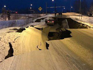 alaska es zona de desastre: impactantes fotos del terremoto