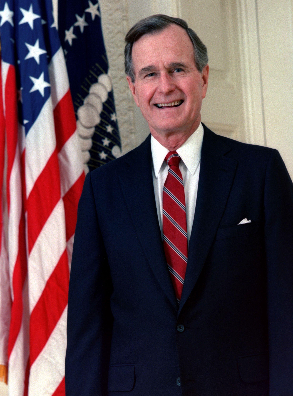 George H.W. Bush (1924-2018)