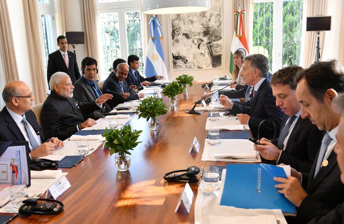Macri estuvo acompañado por el canciller Faurie y los ministros Dujovne