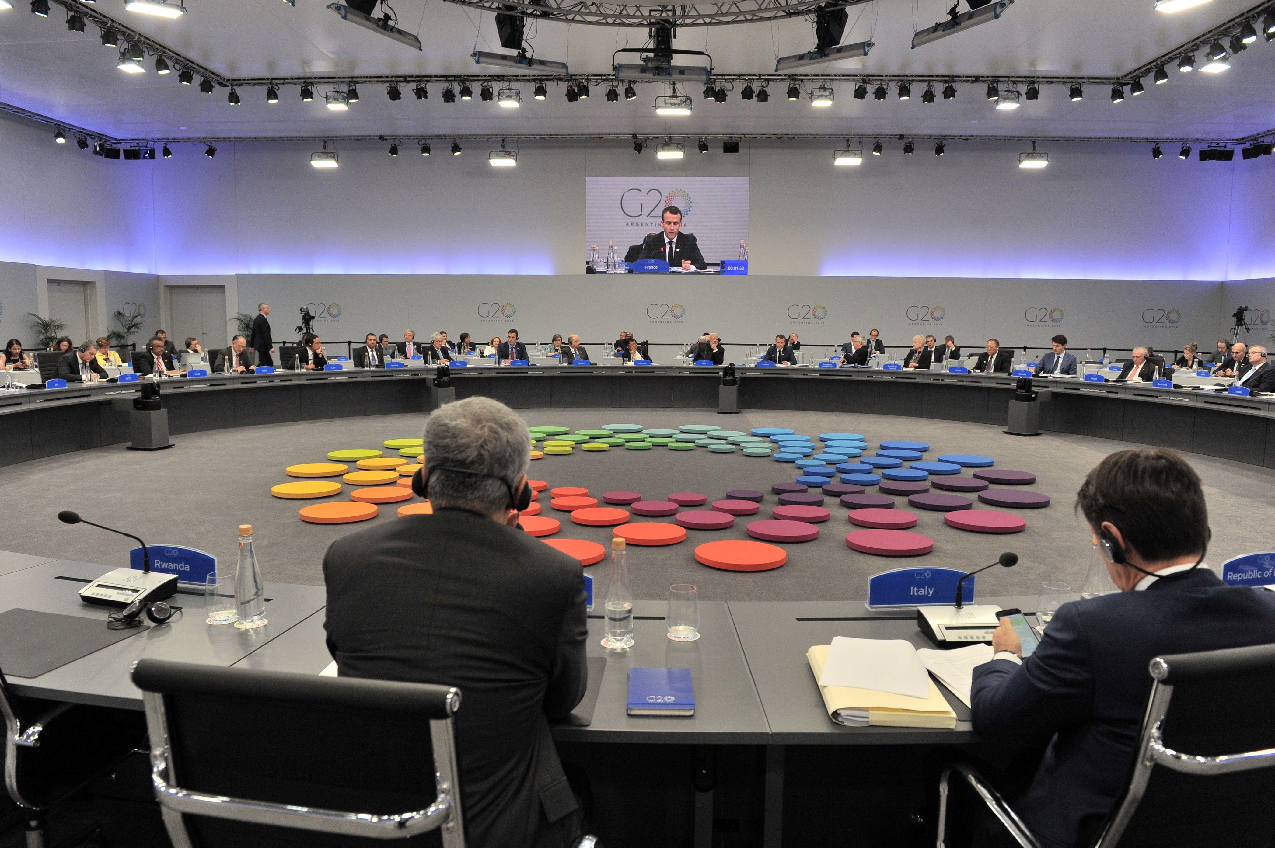 En G20 se lleva a cabo en el Centro Costa Salguero