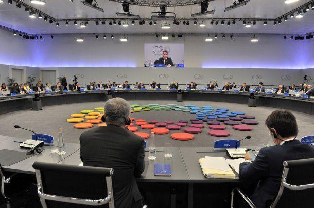 En G20 se lleva a cabo en el Centro Costa Salguero<br>