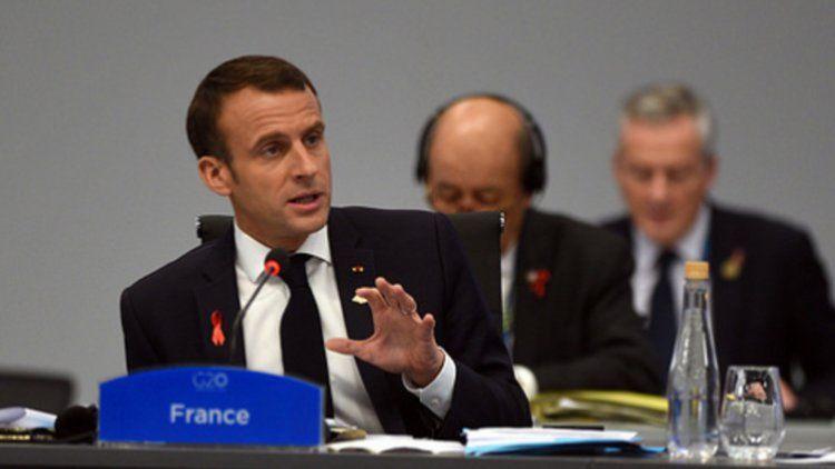 Macron en la Cumbre del G20 en Buenos Aires