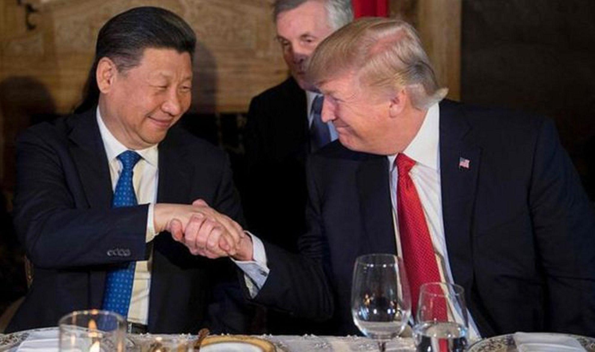 Xi Jinping y Trump