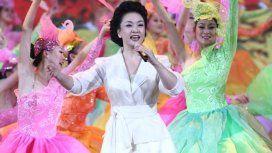 VIDEO: Así canta Peng Liyuan