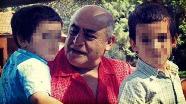 Los hijos de José Arce y Rosana Galliano fueron criados por el padre y la abuela.
