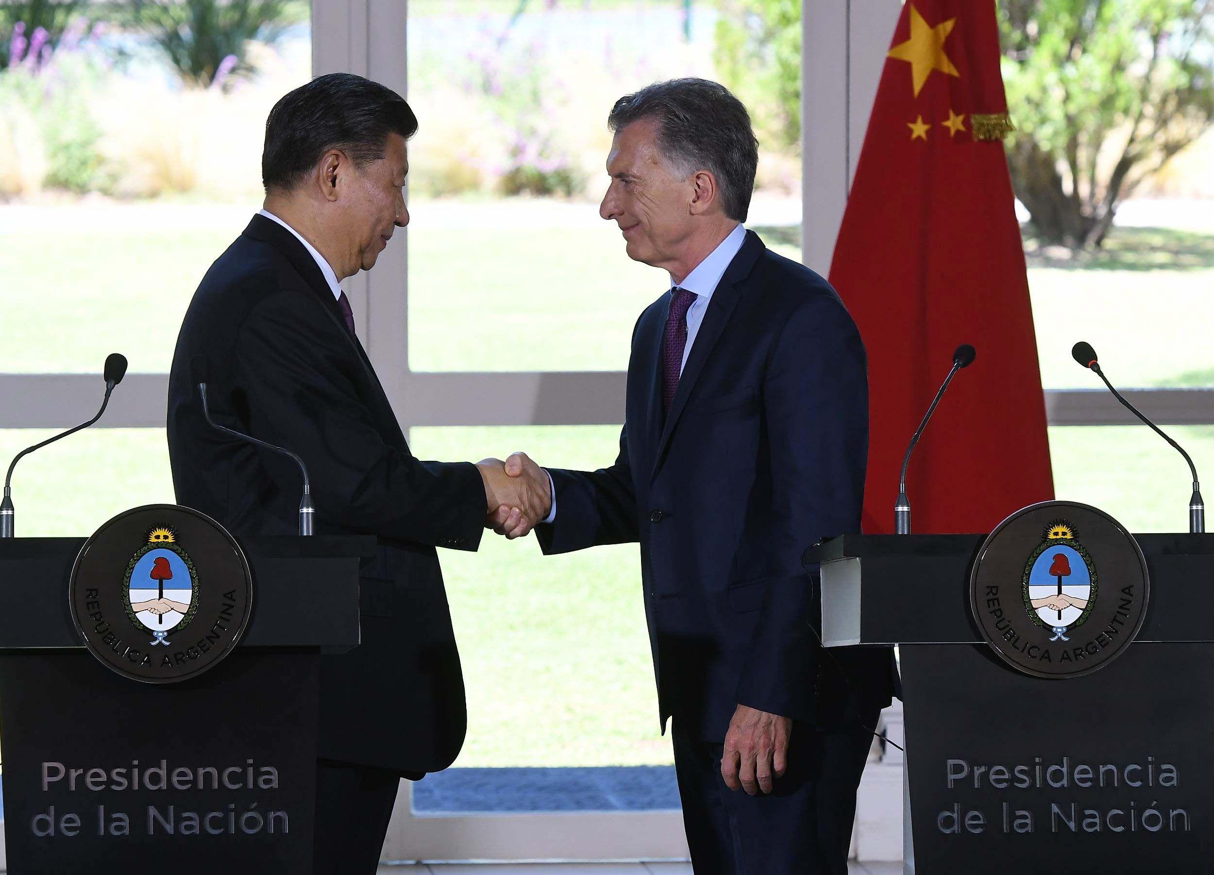 Tras la reunión entre Macri y Xi Jinping, Argentina y China firmaron 30 acuerdos