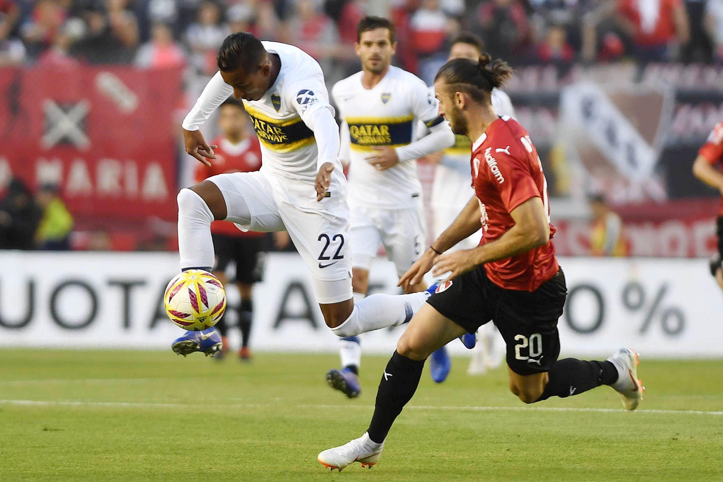Con la cabeza en Madrid, Boca venció a Independiente en Avellaneda