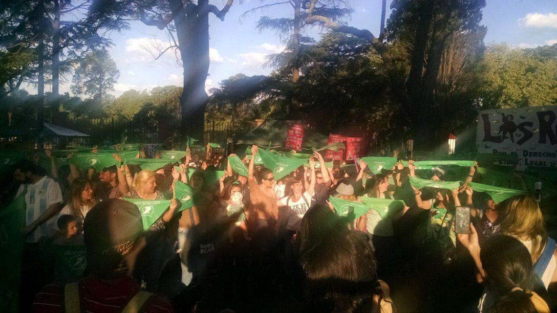 Pañuelazo en la Quinta de Olivos