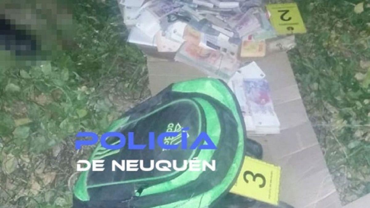 Neuquén: boqueteros fueron descubiertos y quisieron sobornar a la policía