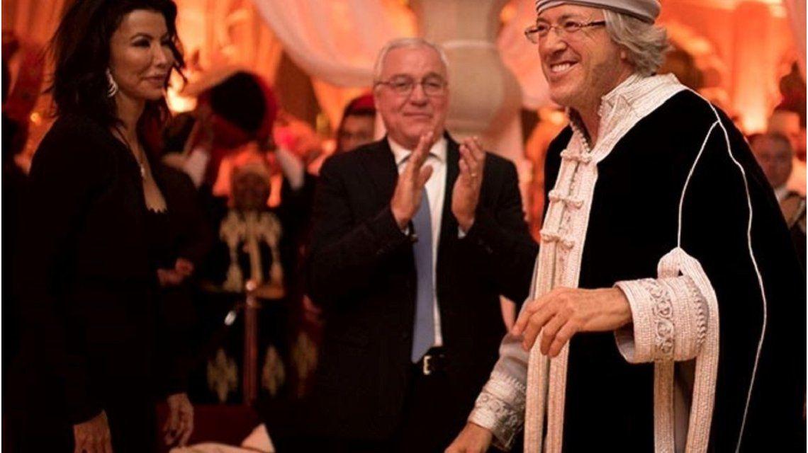 Alejandro Guillermo Roemmers en su festejo de 60 años