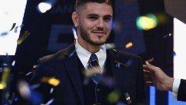 Mauro Icardi es el mejor jugador de la temporada del Calcio
