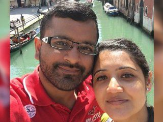 Patel había planeado cobrar el seguro de vida de su mujer y usar sus óvulos para ser padre con su amante