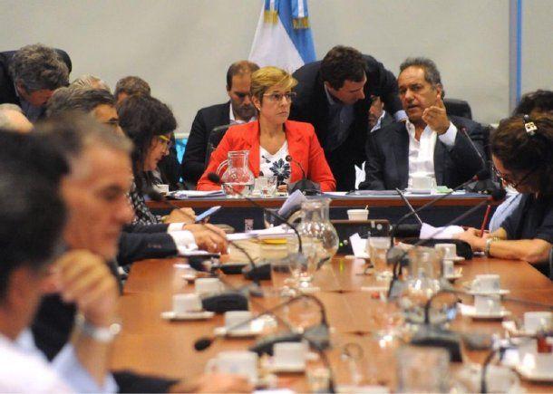 Plenario de comisiones por la ley contra los barrabravas - Crédito: @DiputadosAR