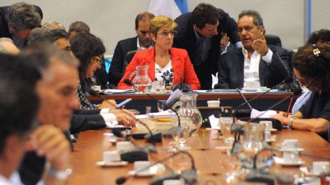 Plenario de comisiones por la ley contra los barrabravas - Crédito:@DiputadosAR
