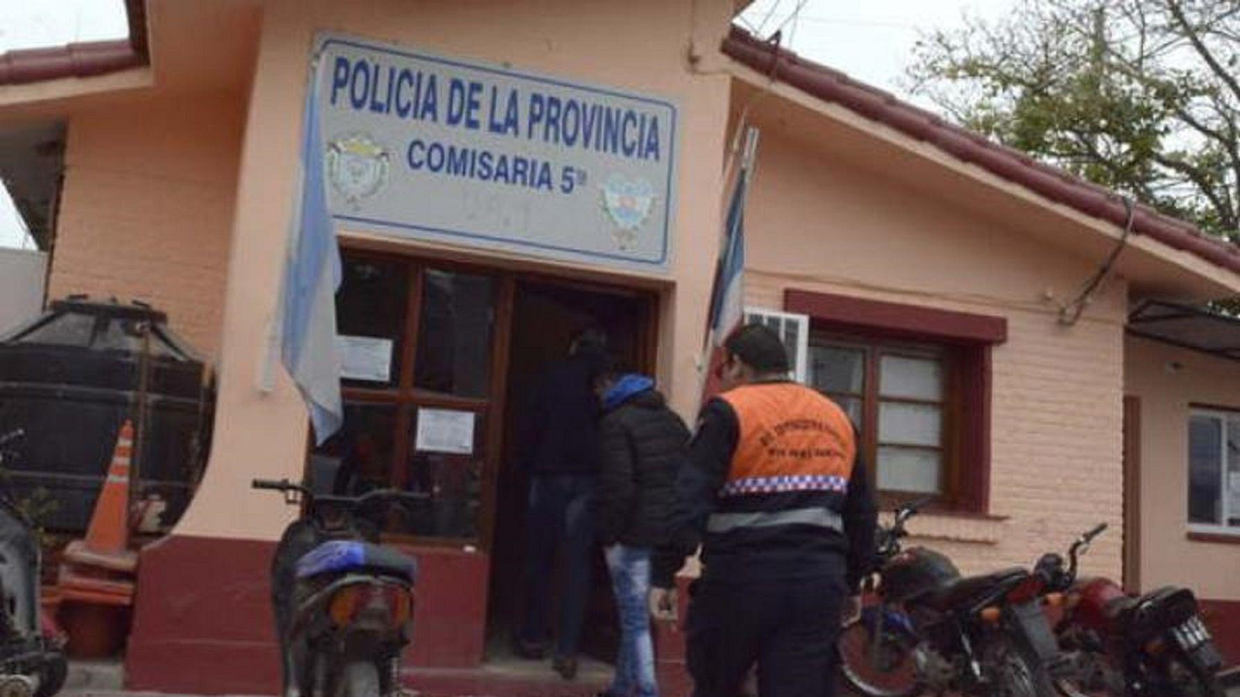 Tensión en una comisaría de Santiago del Estero: motín, incendio y fuga