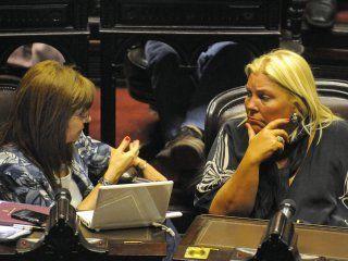 Patricia Bullrich y Elisa Carrió