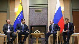Maduro firmó con Putin un acuerdo económico por más de 6.000 millones de dólares
