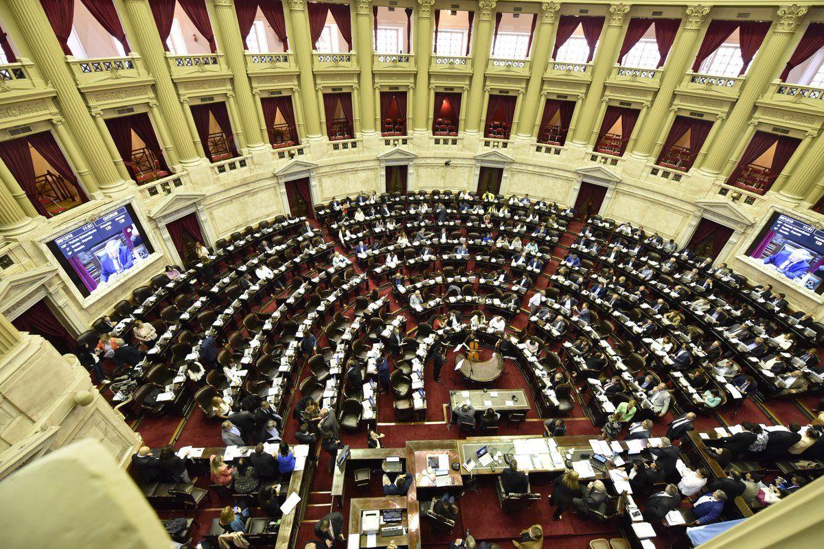 Cámara de Diputados - Crédito:@DiputadosAR