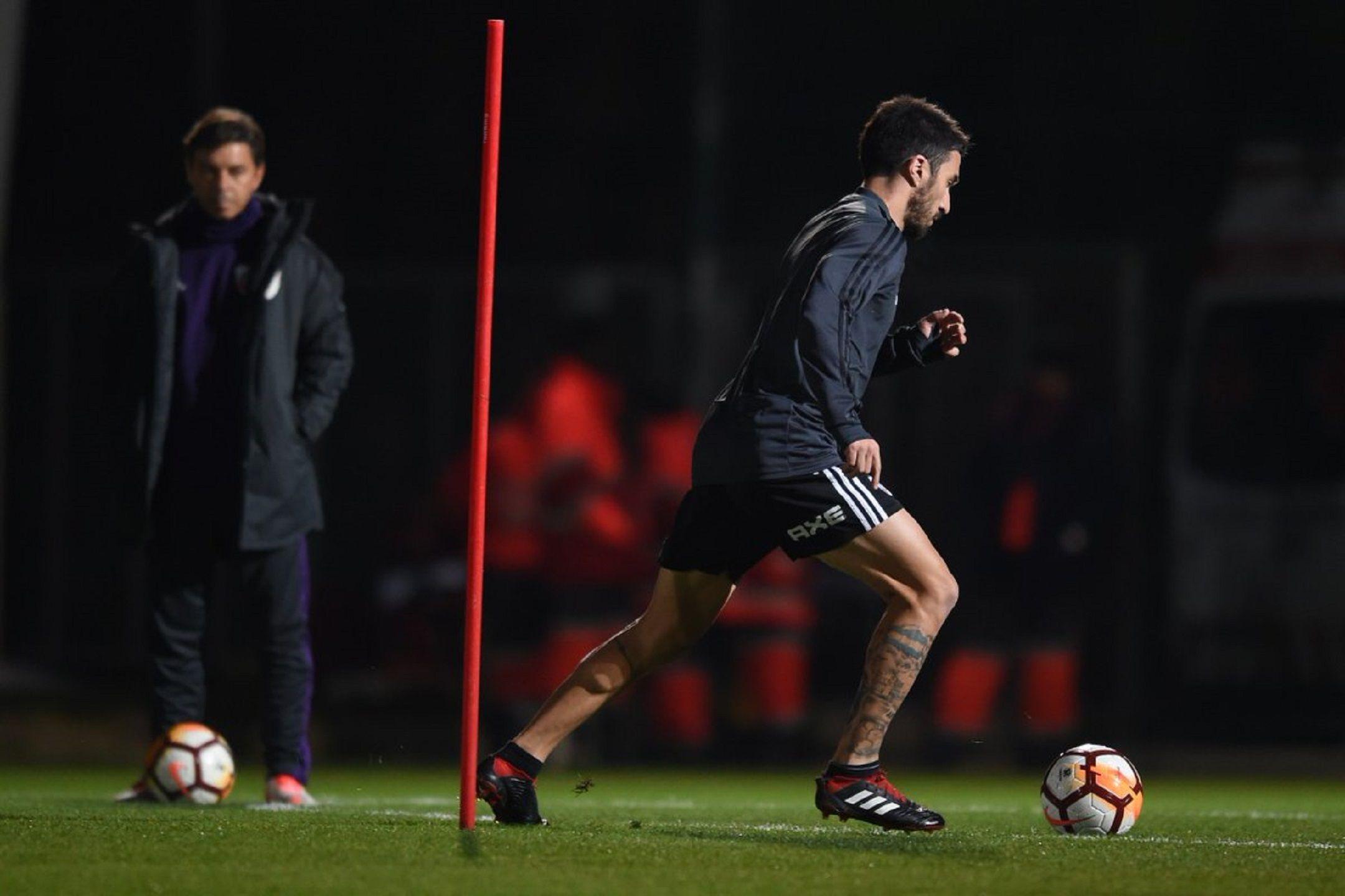 River tuvo su primer entrenamiento en Madrid con una pieza clave