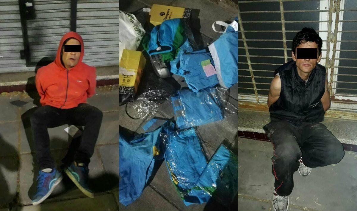 Detuvieron a dos hombres que robaron uniformes de Guarda Parques de la Ciudad