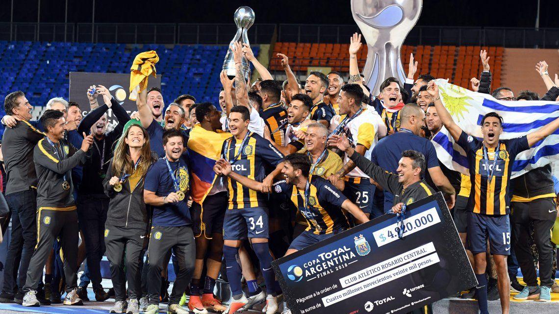 Central es el sexto equipo argentino clasificado a la Libertadores 2019: ¿cuáles son los otros?