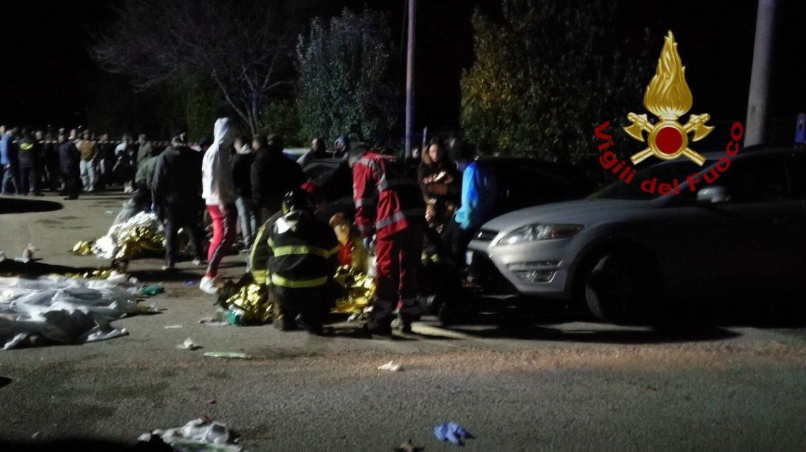 Tragedia en Ancona