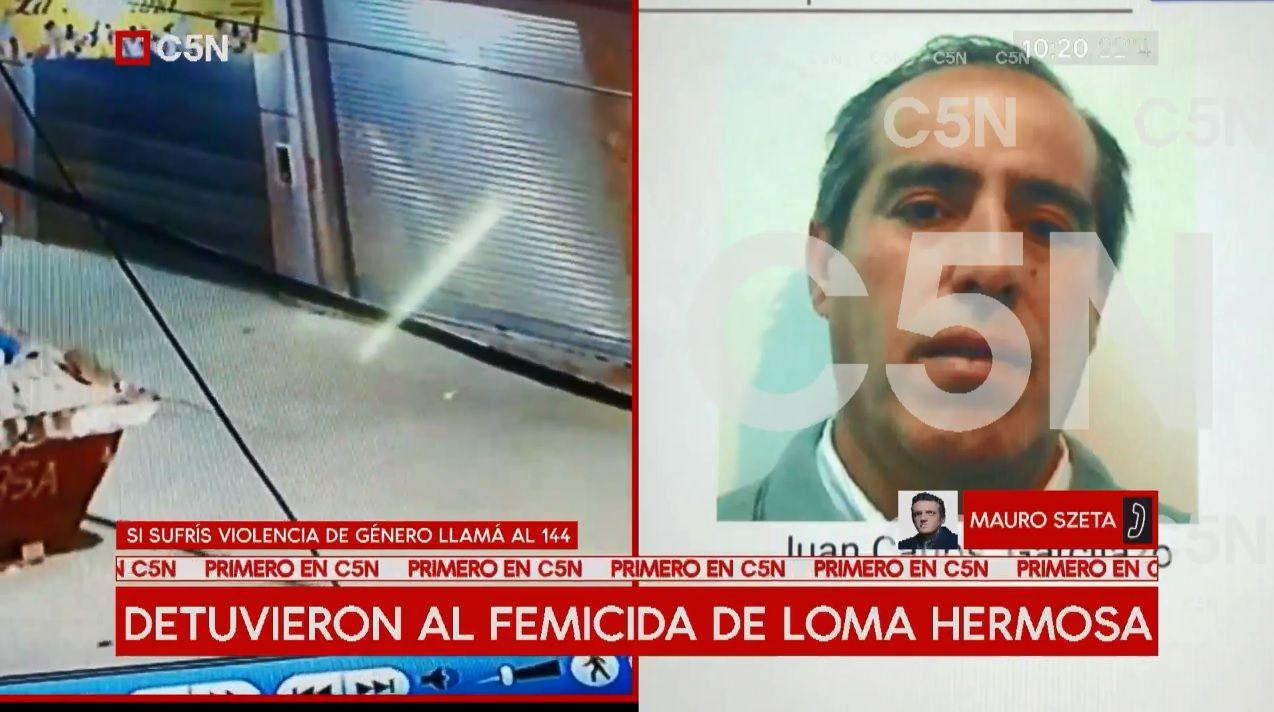 Detuvieron a Juan Carlos Garcilazo