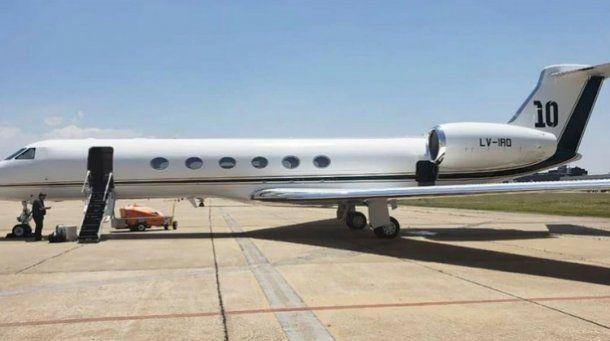 El avión privado que Lionel Messi pondrá a disposición de la Selección para el inicio de las Eliminatorias.