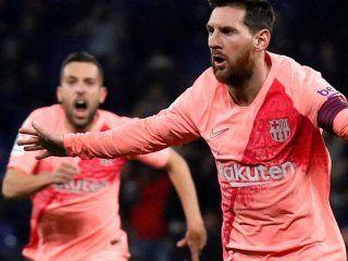 con dos goles de messi, barcelona goleo a espanyol en el clasico catalan