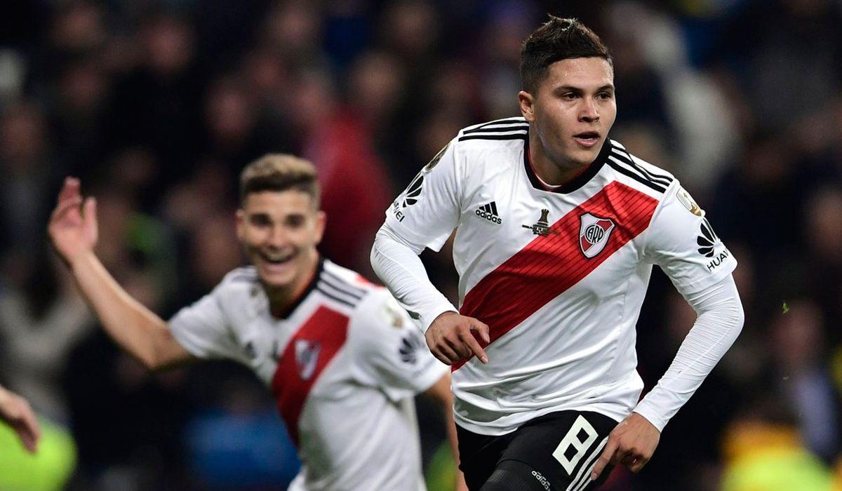 El golazo de Juanfer Quintero con el que River dio vuelta el partido