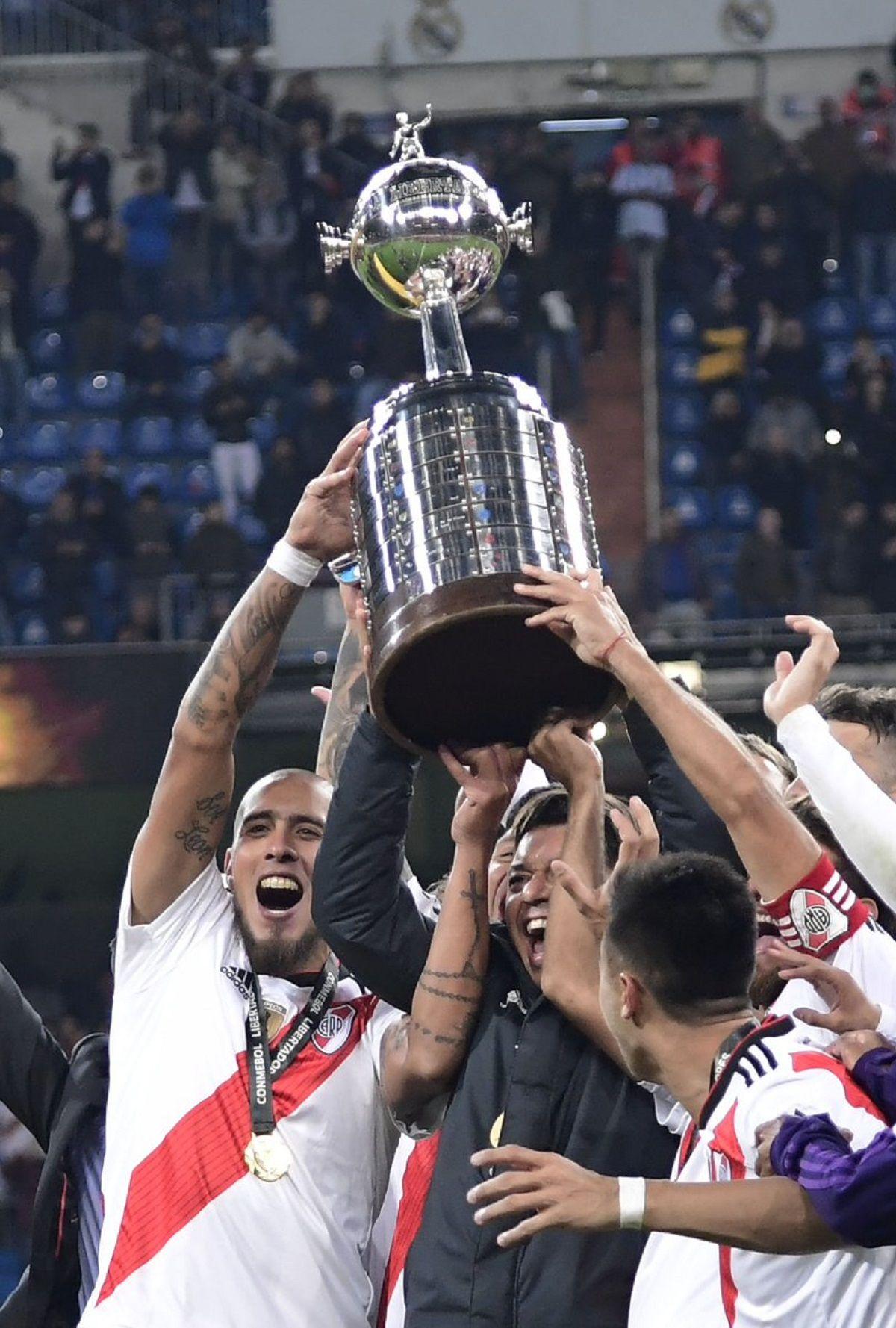 River le ganó la Libertadores a Boca - Crédito:@CARPoficial