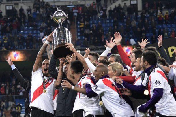 River Campeón de la Copa Libertadores - Crédito: @Libertadores